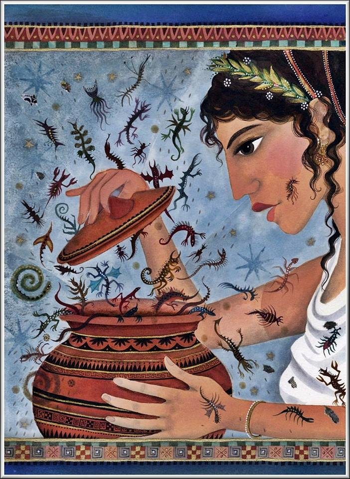 Pandora'nın Kutusu: Mitolojik Bir Öykü 8