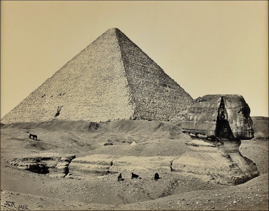 Francis_Frith_-_The_Great_Pyramid_and_the_Great_Sphinx,_Egypt_-_Google_Art_Project